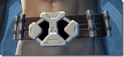 Silent Ghost Male Belt