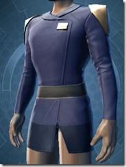 Formal Militant Male Jacket