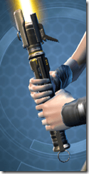 Redeemer's Starforged Lightsaber Front