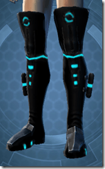 Blue Scalene Male Boots