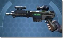 CZR-9001 Blaster Pistol -  Left