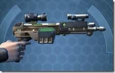 CZR-9001 Blaster Pistol - Right