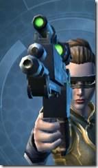 Exceptional Blaster Pistol - Front