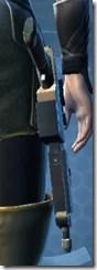 Exceptional Blaster Pistol - Stowed