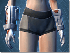 Frontline Veteran Female Gauntlets