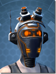 Gold Scalene Female Headgear