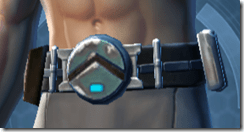 Heartless Pursuer Male Belt
