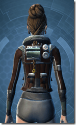 Outrider - Female Back