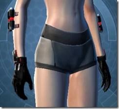 Red Scalene Female Gauntlets