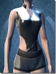 Revealing Bodysuit Female Jacket