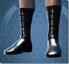 Revealing Bodysuit Male Boots