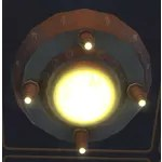 Temple Ceiling Light