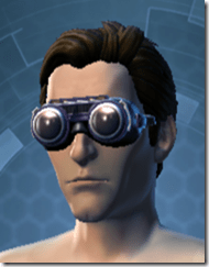 Thermal Retention Male Goggles