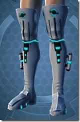 White Scalene Male Boots