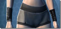 B-100 Cyberbetic Armor Female Bracers