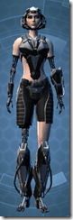 B-100 Cyberbetic Armor - Female Front
