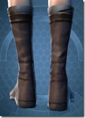 Bantha Hide Footgear - Female Back