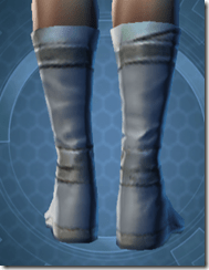Bantha Hide Footgear - Female Back