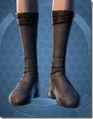 Bantha Hide Footgear - Female Front