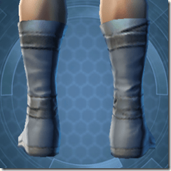 Bantha Hide Footgear - Male Back