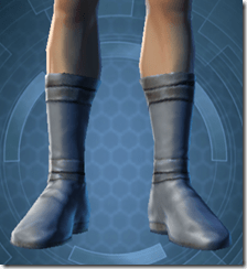 Bantha Hide Footgear - Male Front