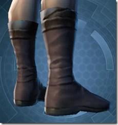 Bantha Hide Footgear - Male Right