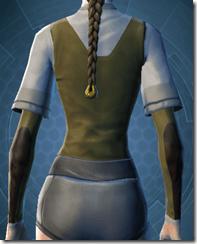 Bantha Hide Vest - Female Back