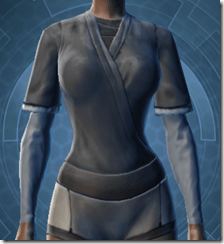 Bantha Hide Vest - Female Front