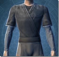 Bantha Hide Vest - Male Front