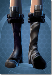 Battlemind's Boots Dyed