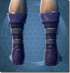 Battlemind's Boots - Male Back