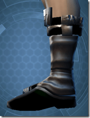 Battlemind's Boots - Male Left