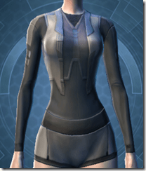 Bolted Body Armor - Female Front