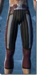 Bolted Greaves - Male Front