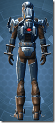 Citadel Hunter - Male Back