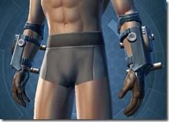 Citadel Hunter Male Gauntlets