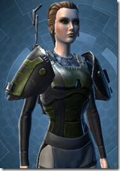 Citadel Trooper Female Body Armor