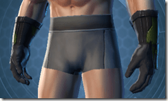 Citadel Trooper Male Gauntlets