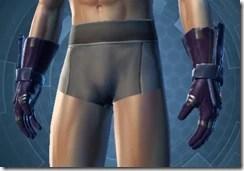 Citadel Warrior Male Body Gloves