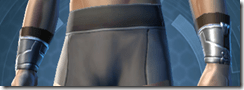 Citadel inquisitor Male Bracers
