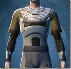 Dense Cuirass - Male Front
