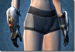 Destroyer Female Gauntlets