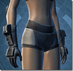 Devoted Allies Targeter Female Gloves