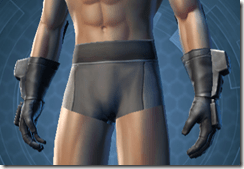 Devoted Allies Targeter Male Gloves
