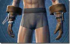 Fearless Hunter Male Gauntlets