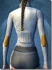 Fort Commander's Chestguard - Female Back