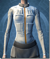 Fort Commander's Chestguard - Female Front