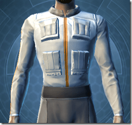 Fort Commander's Chestguard - Male Front