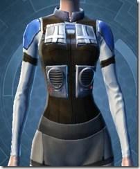 Garnik Infantry Armor - Female Front