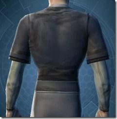 Padded Coat - Male Back